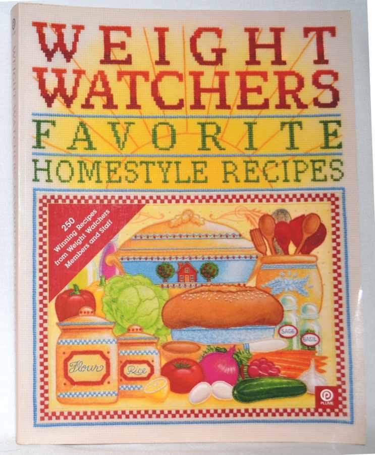 1994 weight watchers favorite homestyle recipes vintage. Black Bedroom Furniture Sets. Home Design Ideas