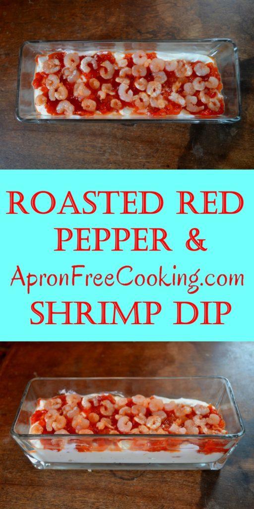 Red Pepper Shrimp Dip Apron Free Cooking